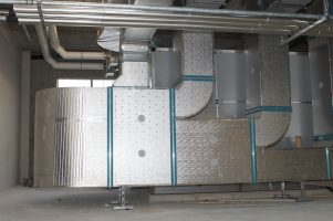 Heavy Duty Plant Room Duct