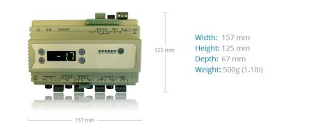 Four Section Refrigeration Controller