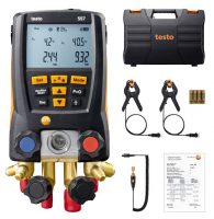 Testo 557 set - Digital Refrigeration Gauge with Vacuum prob